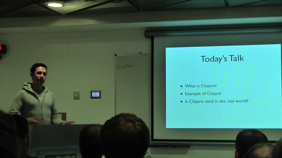 Adrian Mowat on Clojure in the Real World