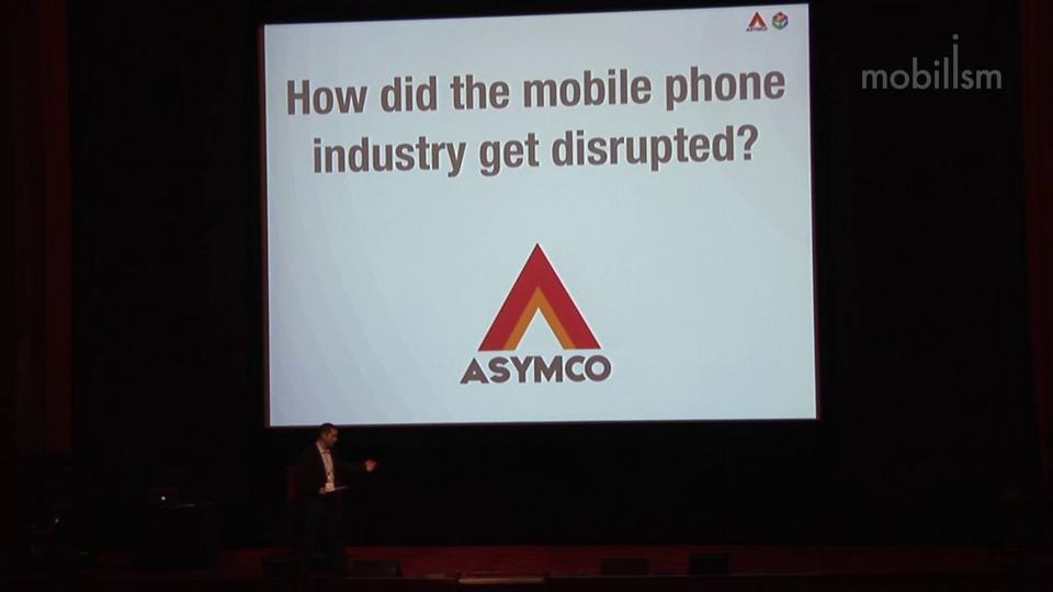 Asymmetric competition | Horace Dediu | Mobilism 2012