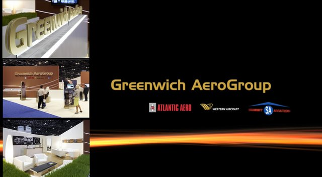 Greenwich Aero Group : Kiosk Motion Graphics