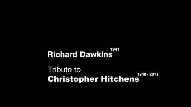 Richard Dawkins - Christopher Hitchens Tribute