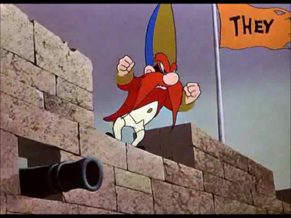 Yosemite Sam - &quot;Bunker Hill Bunny&quot;