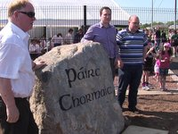 Conor Gormley tribute at Pairc Chormaic