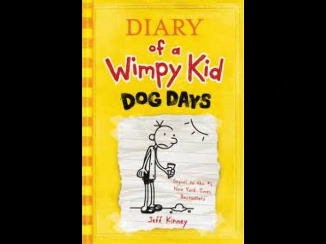 summary of diary of wimpy kid dog days