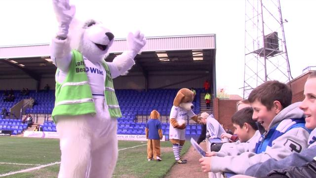 Lofty at Tranmere Rovers