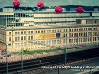 Moving of the MFO building in Zurich 2012, time lapse