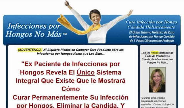 Lazeroterapiya de los hongos de las uñas por el método lazon-medel