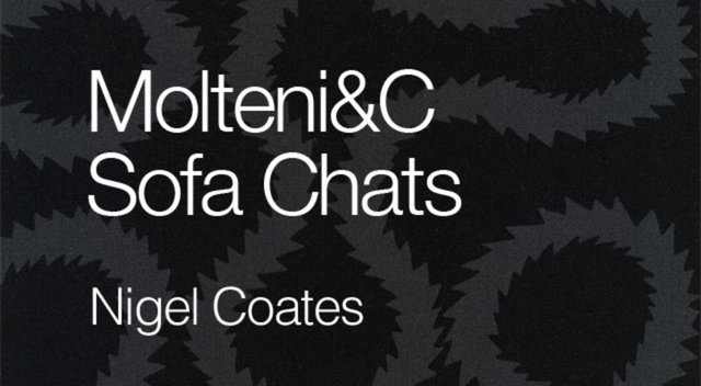 A Chat with Nigel Coates