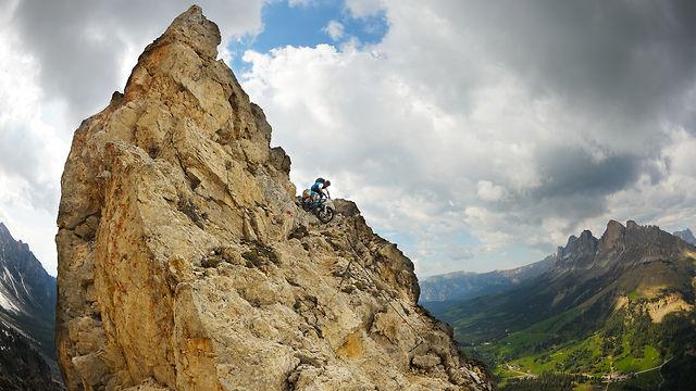 Dolomite climb & ride.