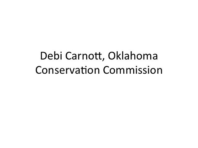 Debi Carnott - Oklahoma Conservation Commission