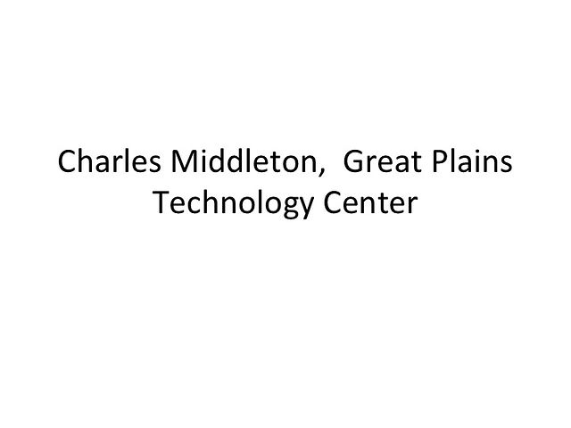 Charles Middleton - Great Plains Technology Center
