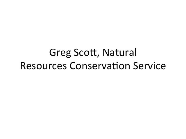 Greg Scott - NRCS