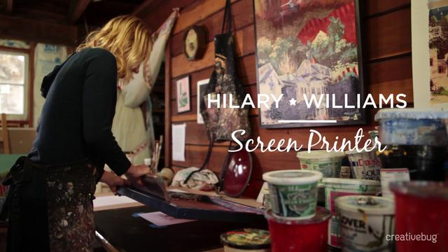 Hilary Williams Trailer for Creativebug