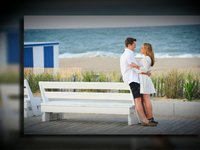 Christina and Ryan Rehoboth Beach Engagement Session