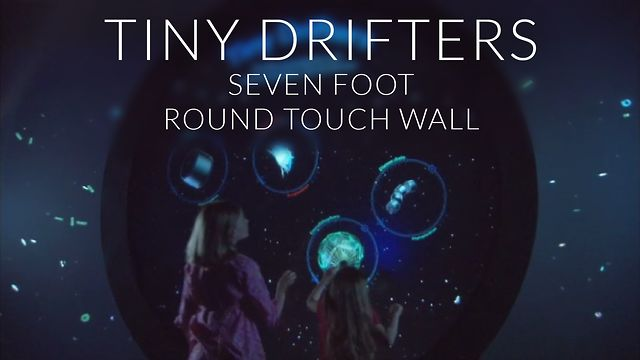 Tiny Drifters - A Massive Seven Foot Multitouch Wall