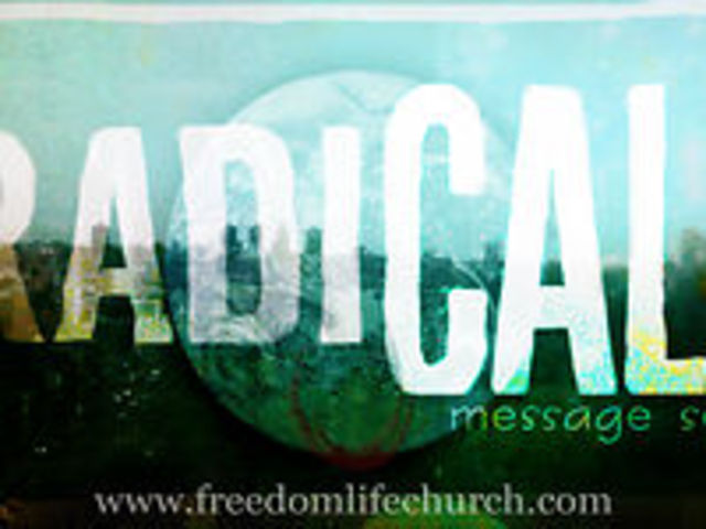 "RadiCALL week 4 ""Radical Giving"""