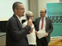 Laura Borràs i Montserrat Casals parlen de Sales