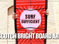 Scotch Bright Board Art
