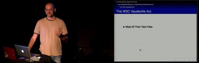 Zed A. Shaw - The Web Will Die When OOP Dies