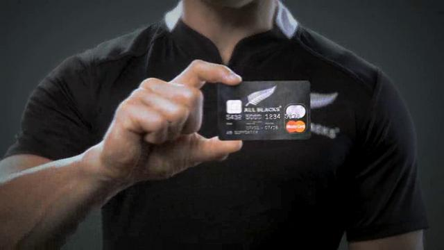 BNZ, All Blacks Mastercard