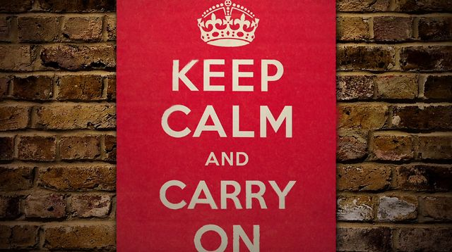 Keep Calm and Carry On - Intro
