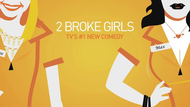 2 Broke Girls ad