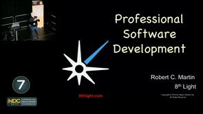 Robert C. Martin - Professional Software Development