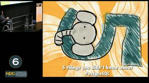 Rob Conery - Five Things You Didn't Know About PostGresSQL