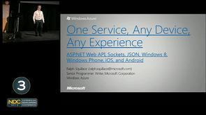Ralph Squillace - One Service, Any Device, Any Experience: ASP.NET Web API, JSON, and Windows 8, Windows Phone, iOS, and Android