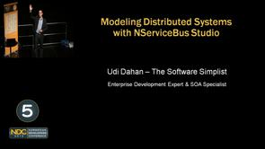 Udi Dahan - Modeling Distributed Systems with NServiceBus Studio