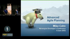 Mike Cohn - Advanced Topics in Agile Planning