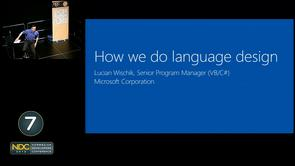 Lucian Wischik - How we do language design at Microsoft: VB and C#