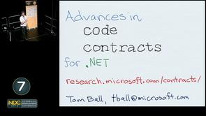 Thomas Ball - Advances in Code Contracts for .NET