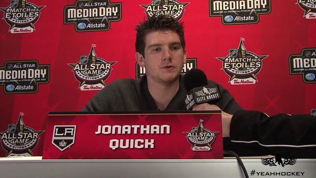 Jonathan Quick Talks to Ferraro Brothers Hockey