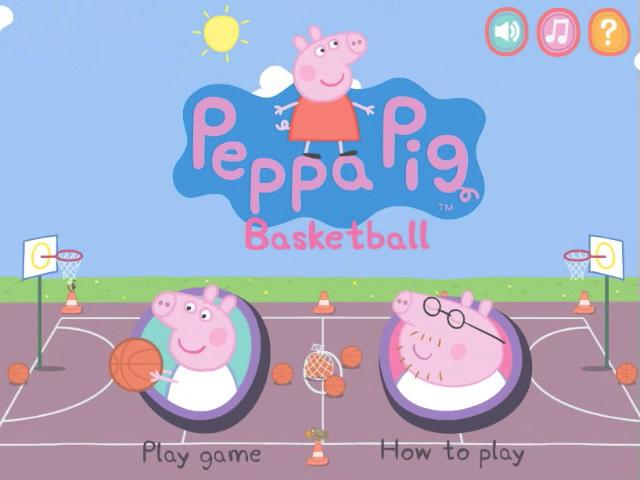 Richard Ridings Peppa Pig Peppa Pig Basket Ball ...