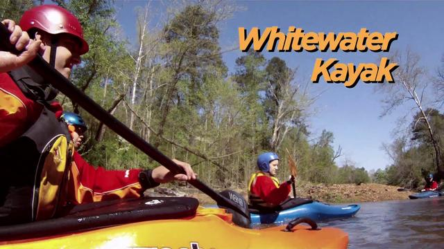 Adventure: Whitewater Kayaking