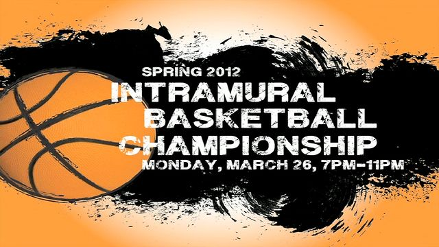 ECU Intramural Basketball Championship 2012