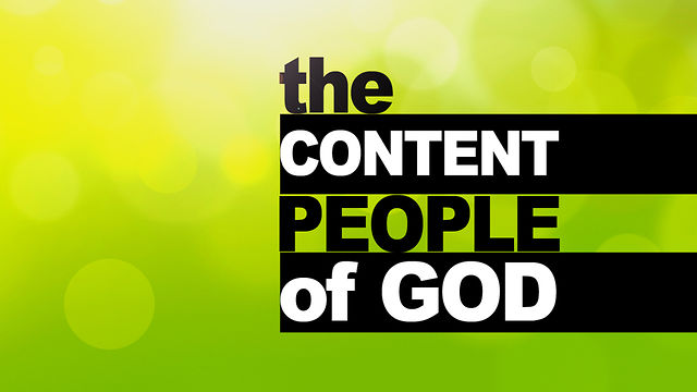 "April 22, 2012 ""The Content People of God"""