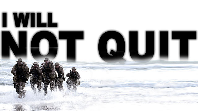 "April 15, 2012 ""I Will Not Quit"""