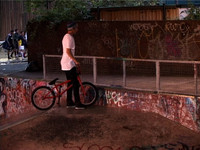 Seventies BMX - Levi Rogers x Lloyd Wright / Meanwhile Skatepark