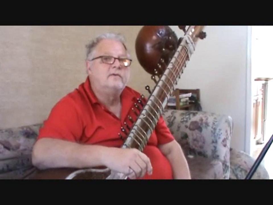 COSMIC MUSIC in 11 DIMENSIONS: Raag Basant Mukhari in chartaal ki sawari (11 beats) Antar Garneau  sitar