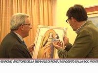 """Il Pittore Angelo Barone """"ingaggiato"""" dalla BCC Monte Pruno!"""