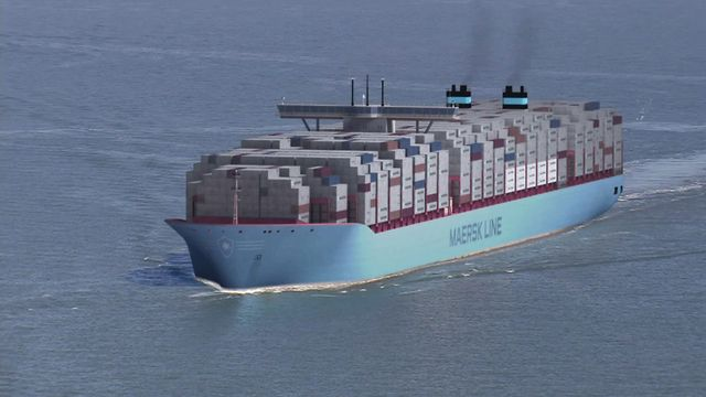 Triple-E: The largest, most efficient ship in the world