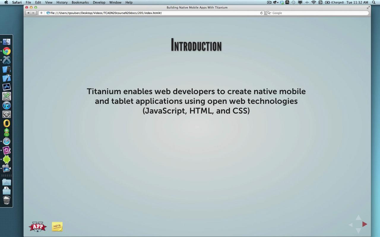 00 -Titanium Overview