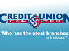 Who Has the Most Branches in Indiana?