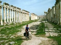cycling Syria april 2005