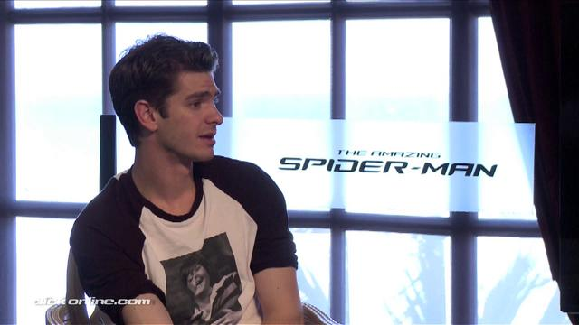 Andrew Garfield Interview Teaser for The Amazing Spider-Man