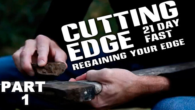 "January 8, 2012 :  ""CUTTING EDGE, Regaining Your Edge"""