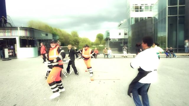 Doejedroombaan Flashmob