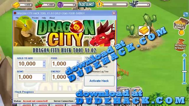 DRAGON CITY HACK FOR FACEBOOK | DRAGON CITY HACK FOR GOLD AND