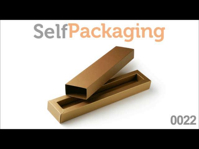 boite en papier rectangulaire longue pour des stylos comment faire boite 0022 de. Black Bedroom Furniture Sets. Home Design Ideas